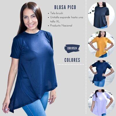 Blusa pico modelo 01524