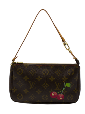 Louis Vuitton x Takashi Murakami Cherry Pochette