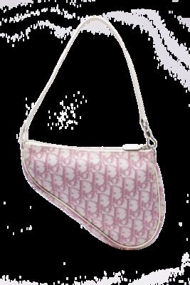 Christian Dior Pink Diorissimo Saddle