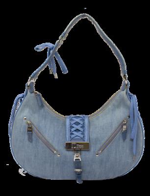 Christian Dior Denim Admit It Shoulder Bag