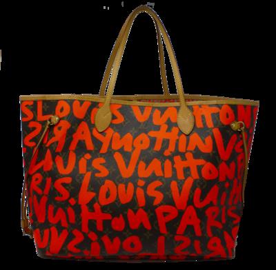Louis Vuitton x Stephen Sprouse Neon Orange Monogram Canvas Neverfull GM