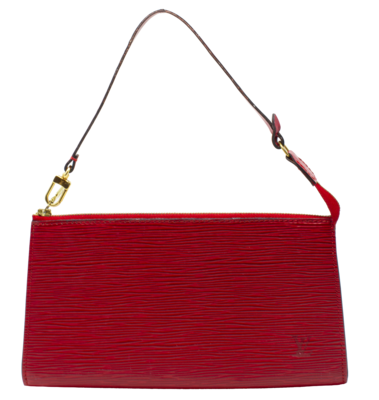 Louis Vuitton Rouge Epi Pochette Accessoires 24
