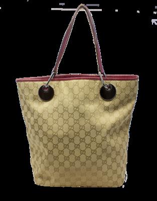 Gucci GG Beige Bucket Bag