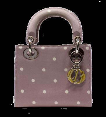 Christian Dior Polka Dot Mini Lady Dior