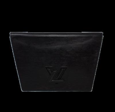 Louis Vuitton 90s Black Epi Trapéze