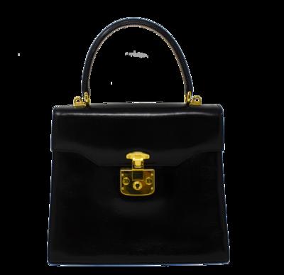 Gucci Black Kelly Bag