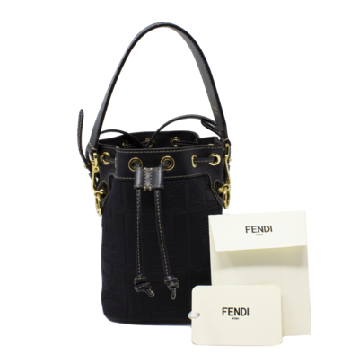Fendi Mon Tressor FF Bucket Bag