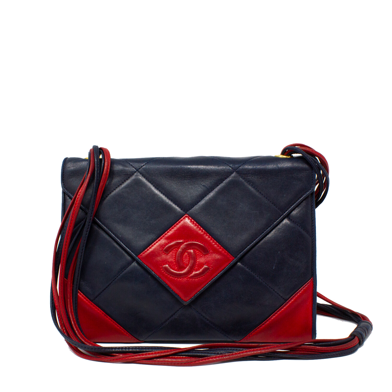 Chanel Navy CC Envelope Flap Bag