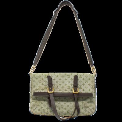 Louis Vuitton Green Mini Lin Francoise Convertible Tote