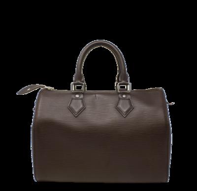 Lous Vuitton Moka Epi Speedy 25