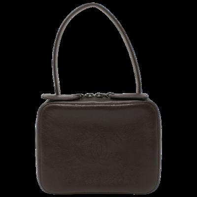 Chanel 90s Brown CC Box Bag