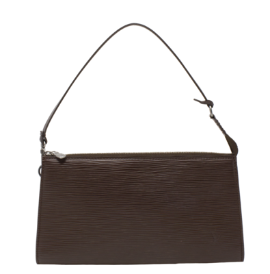 Louis Vuitton Moka Brown Epi Pochette