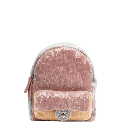 Chanel Sequin Mini Backpack