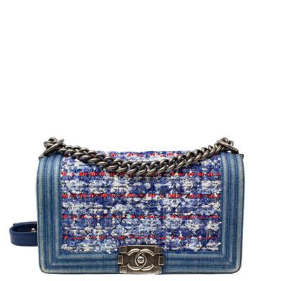 Chanel Medium Denim Tweed Boy Bag