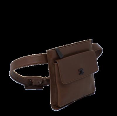 Chanel Brown CC Belt Bag