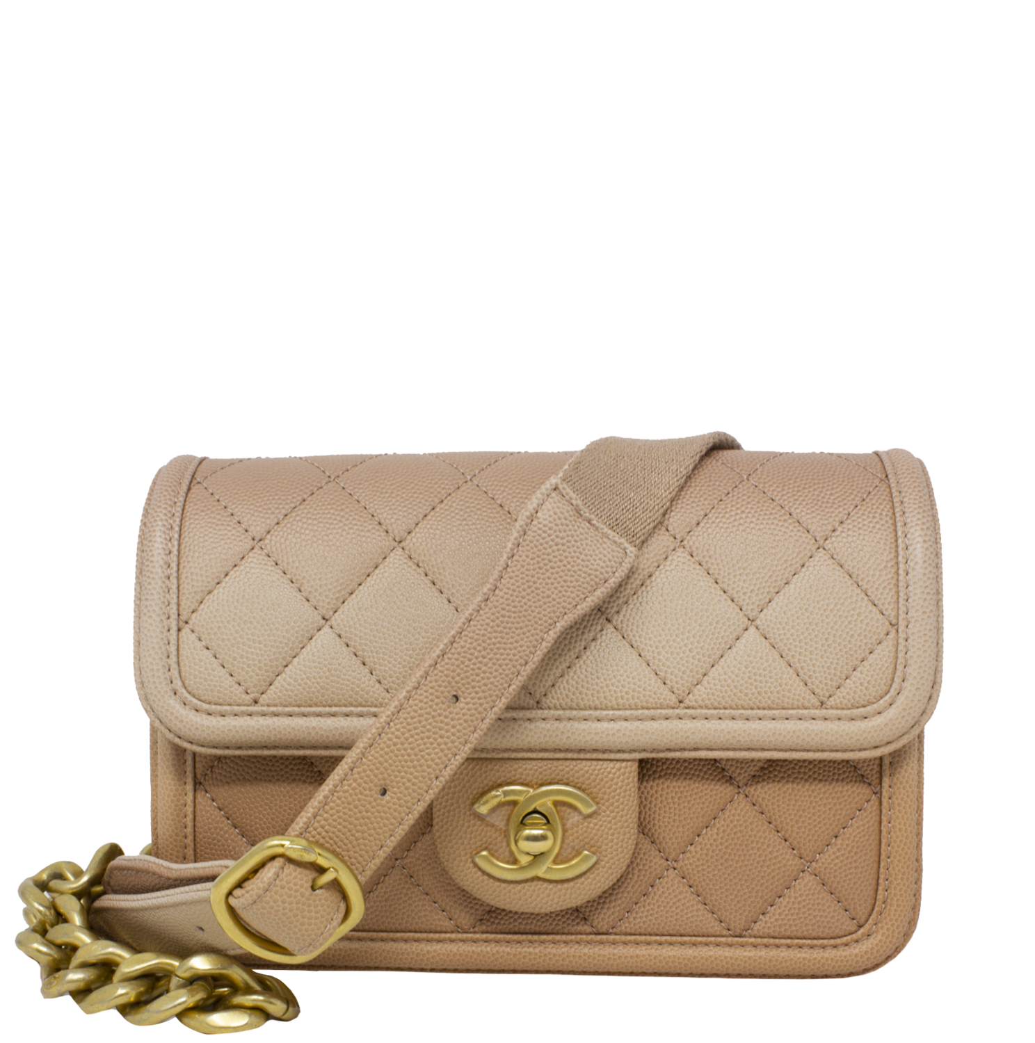 Chanel 2019 Beige Sunset On The Sea Bag w/ Tags