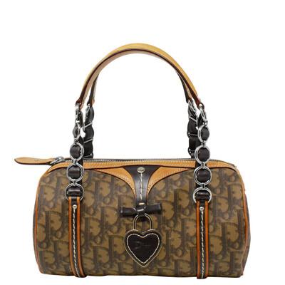 Christian Dior Brown Diorissimo Romantique Bag
