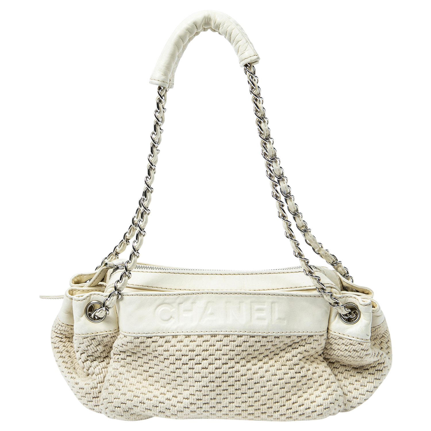 Chanel Limited Edition Ivory Rock n Chic Bag