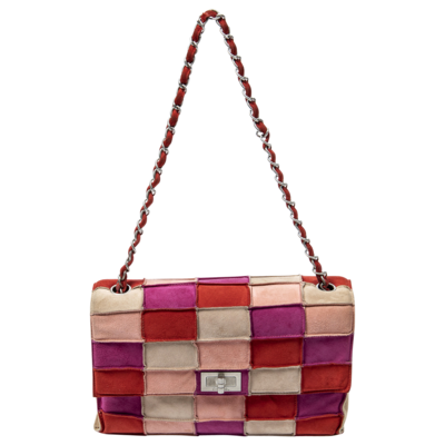 Chanel Limited Edition Pink Patchwork Reissue Flap Bag