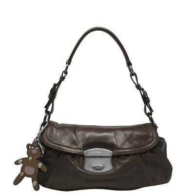 Prada Brown Teddy Charm Bag