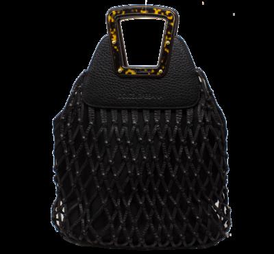 Dolce & Gabbana Black French Market Top Handle Bag