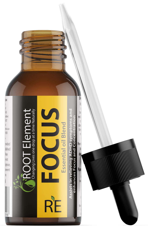 FOCUS Essential oil diffuser blend 20 ml