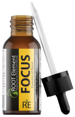 FOCUS Essential oil diffuser blend 20 ml