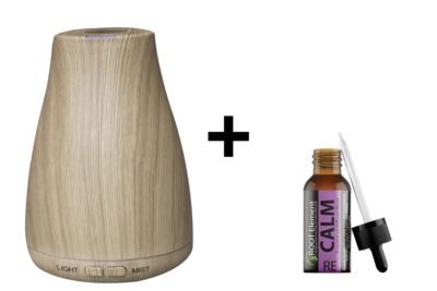 Ultrasonic Diffuser +  RE Calm Blend
