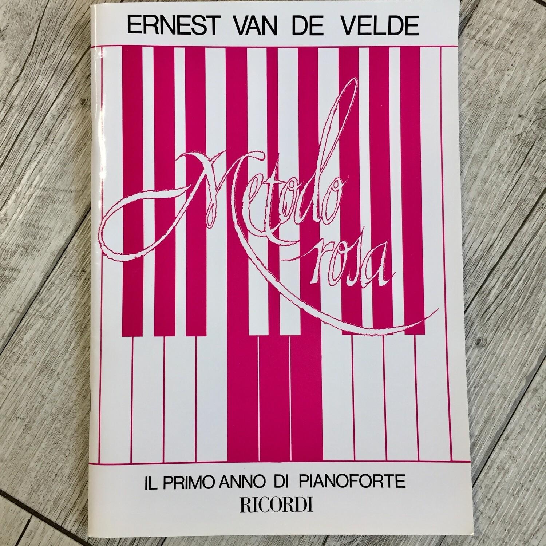 Ernest Van De Velde - Il primo anno di pianoforte