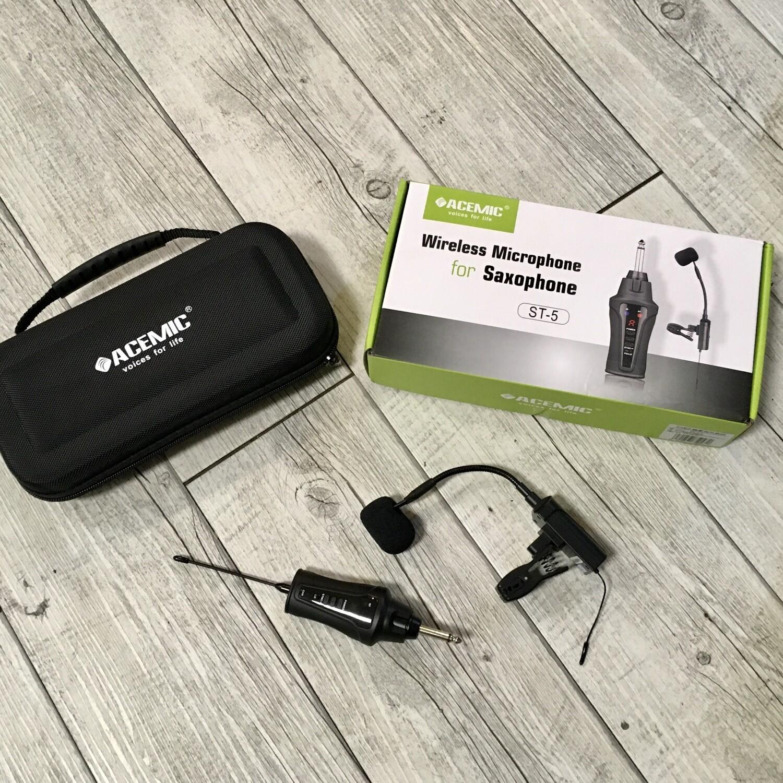 ACEMIC ST5 - Radio microfono a clip per fiati