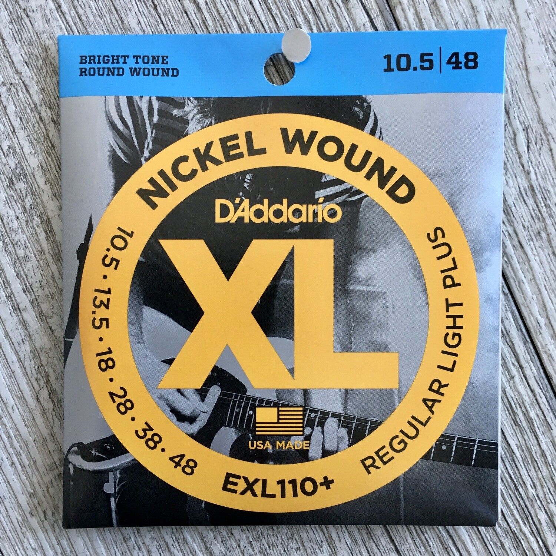 D'ADDARIO XL EXL110+ - Nickel Wound 10,5/48