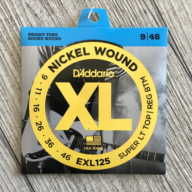 D'ADDARIO XL EXL125 - Nickel Wound 09/46