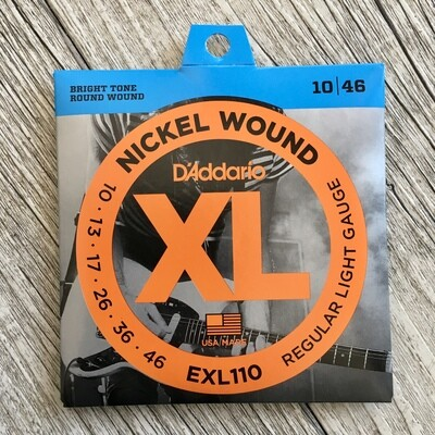 D'ADDARIO XL EXL110 - Nickel Wound 10/46