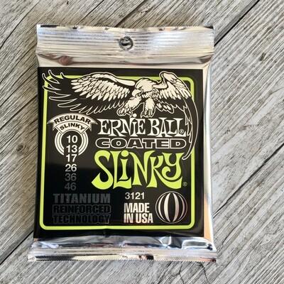 ERNIE BALL 3121 - Coated Titanium Regular Slinky 10/46