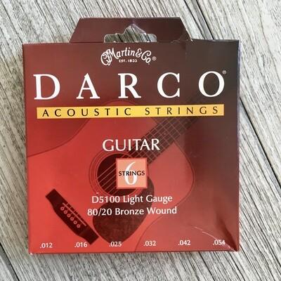 MARTIN D5100 - Darco Acoustic Light Gauge 12/54