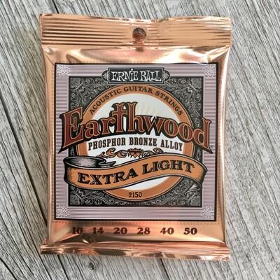 ERNIE BALL 2146 - Earthwood Phosphor Bronze Extra Light 10/50