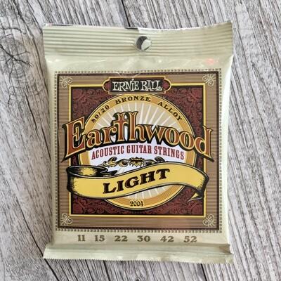 ERNIE BALL 2004 - Earthwood 80/20 Bronze Light 11/52