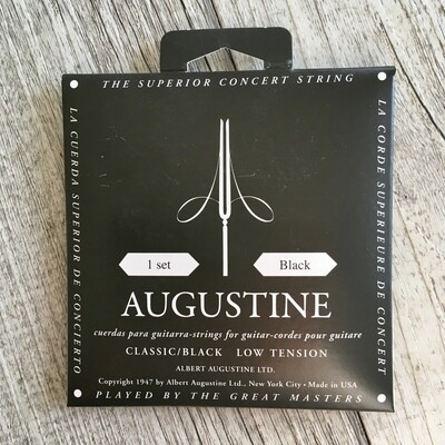 AUGUSTINE - Classic Black Low Tension
