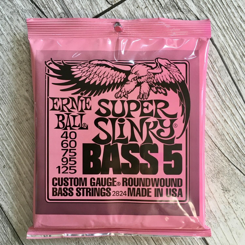 ERNIE BALL 2824 - Super Slinky Bass 5 Corde 40/125