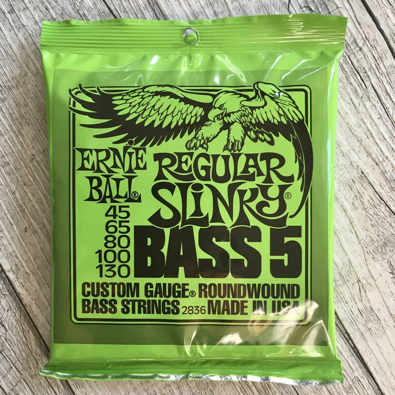 ERNIE BALL 2836 - Regular Slinky Bass 5 corde 45/130