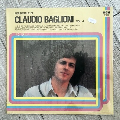 CLAUDIO BAGLIONI - Personale di Claudio Baglioni vol.4