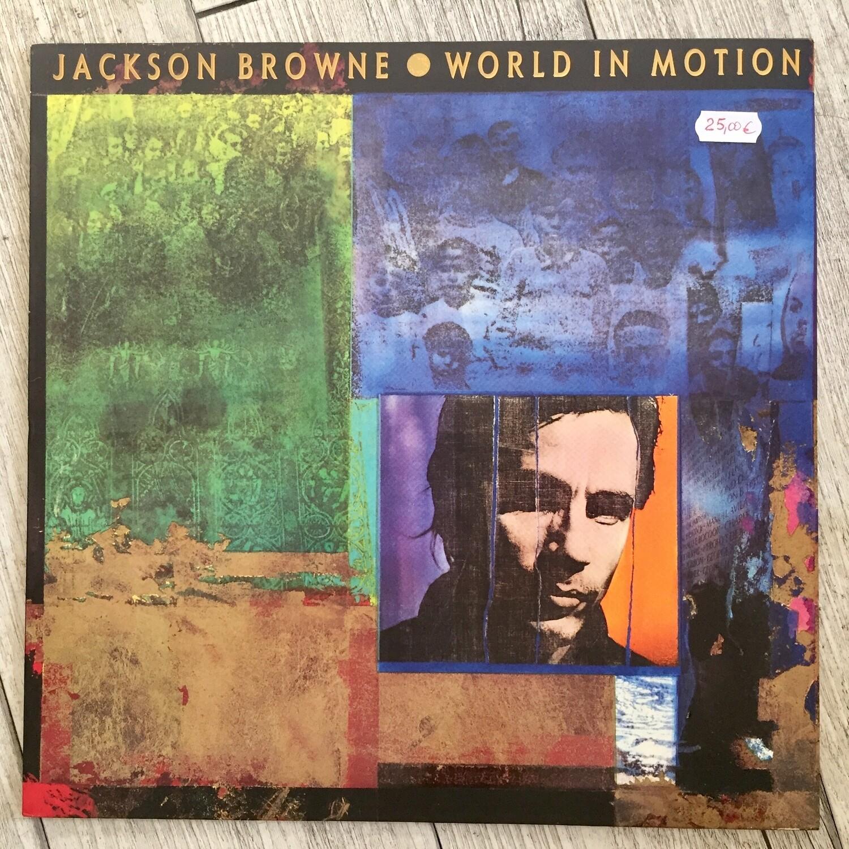 Jackson Brown - World in motion