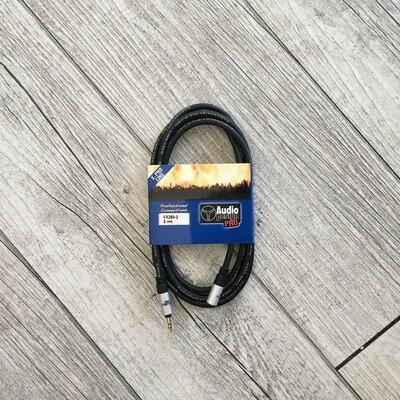 AUDIO DESIGN PRO VX2502 - JACK (3.5) maschio JACK (3,5) femmina 2 m