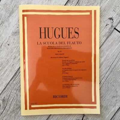 HUGUES - La Scuola Del Flauto Op. 51 Vol.1