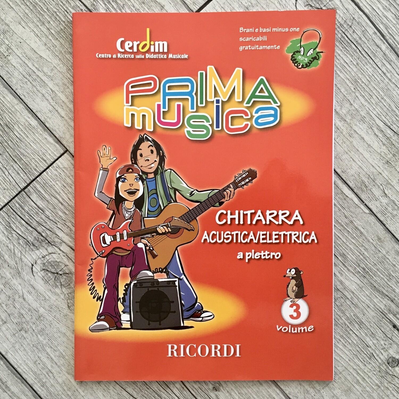 PRIMA MUSICA - Chitarra Acustica/Elettrica Vol. 3