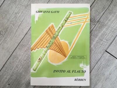 GIOVANNI GATTI - Invito Al Flauto