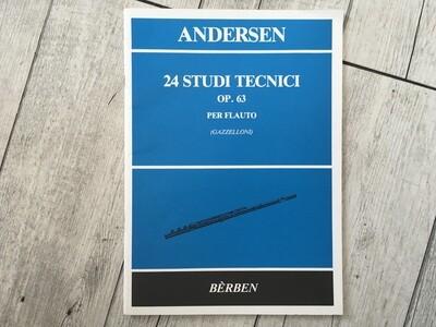 ANDERSEN - 24 Studi Tecnici Op. 63