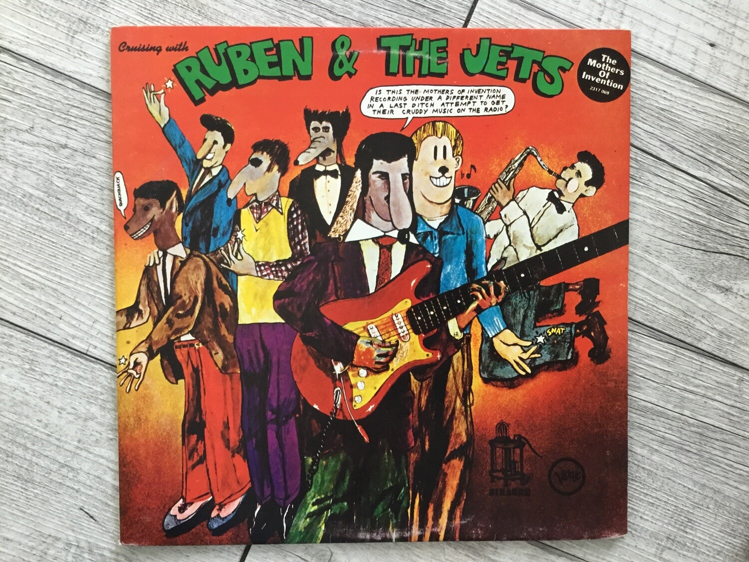 RUBEN & THE JETS - The Mothers Of Invention