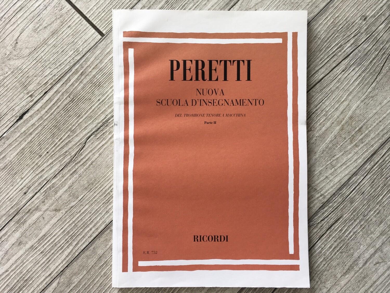 PERETTI - Nuova scuola d'insegnamento Trombone Vol. 2