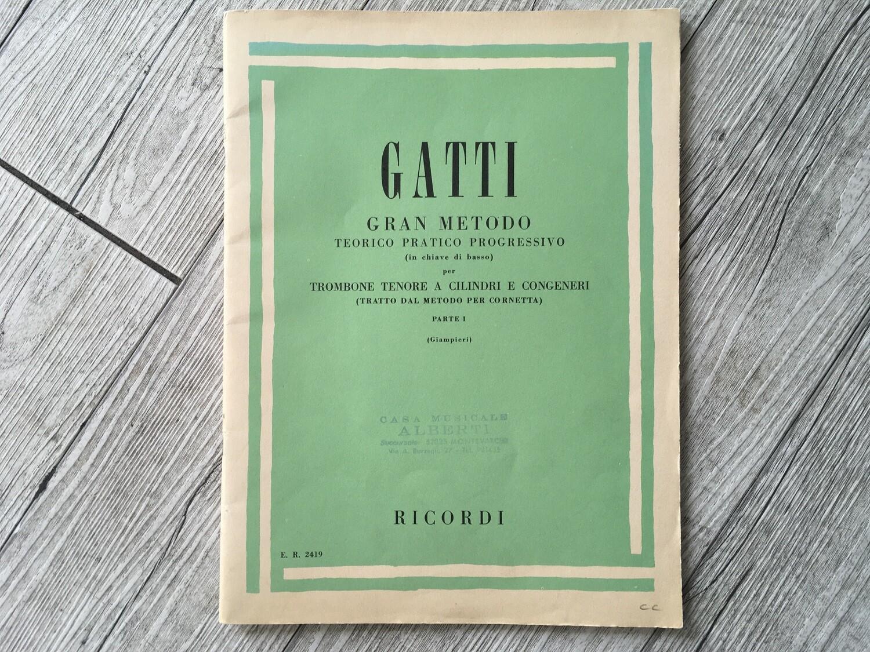 GATTI - Gran metodo Trombone tenore Vol. 1
